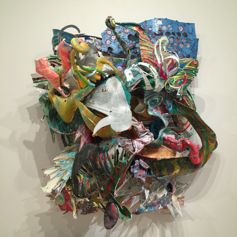 Frank Stella (b.1936), The Whiteness of the Whale (IRS-1, 2X), 1987. Paint on aluminum,