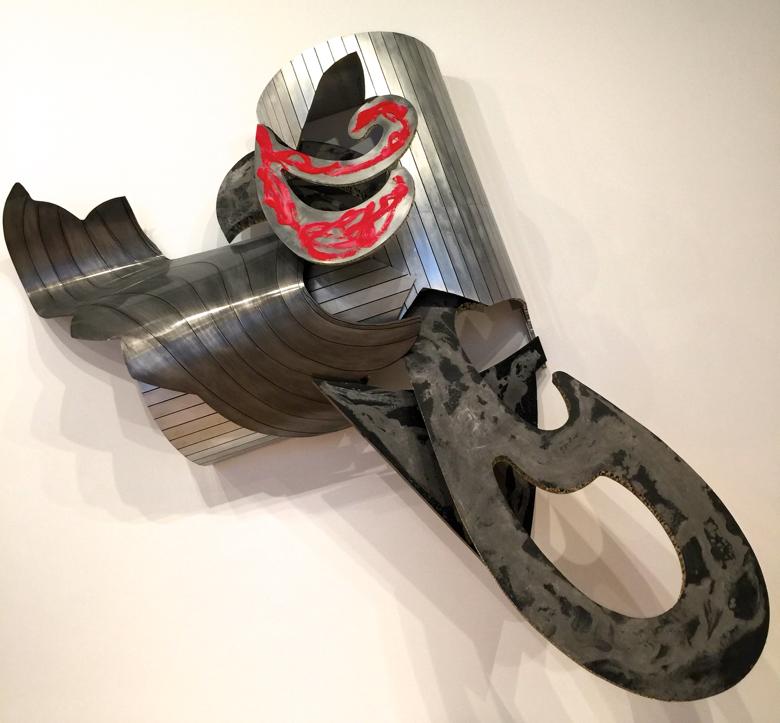 """Frank Stella """"Loomings"""" 1987"""