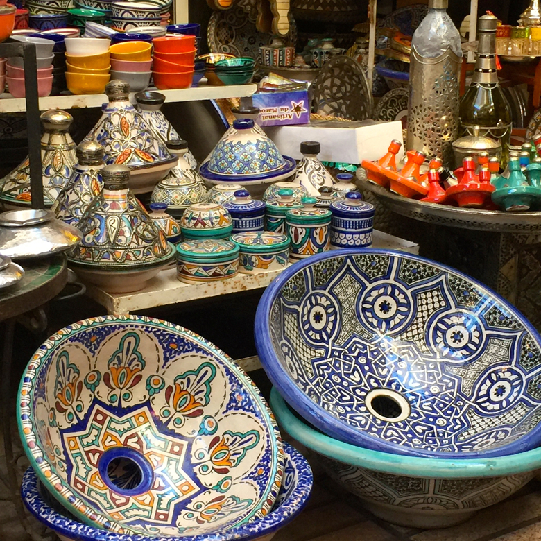 marrakech-basins in medina