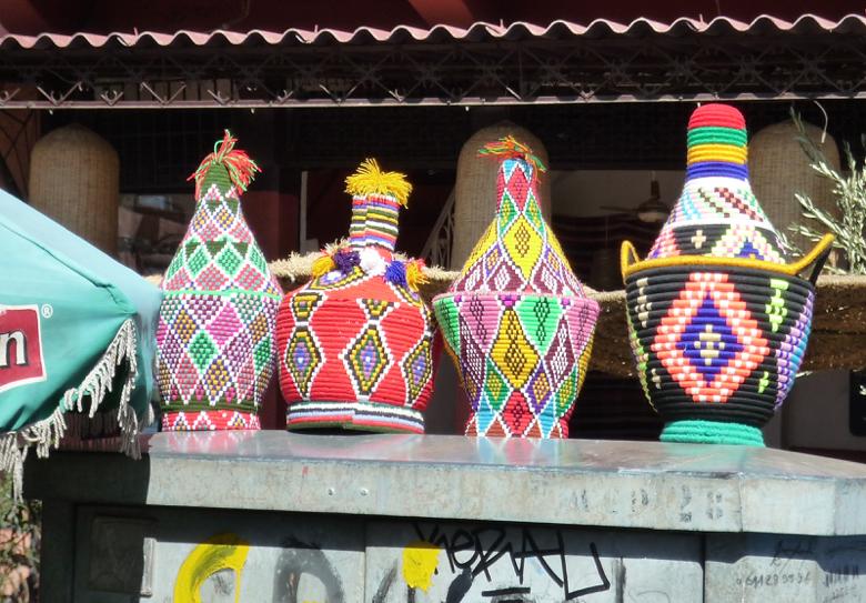 marrakech-colorful baskets