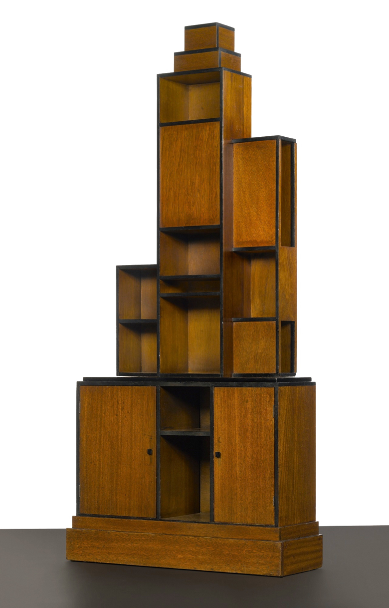 An example of Paul Frankl's skyscraper furniture.