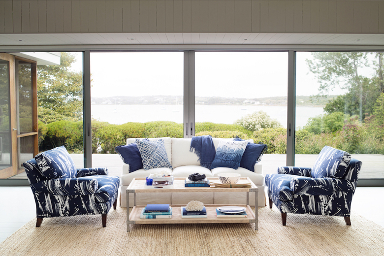 coastal living room for where am I