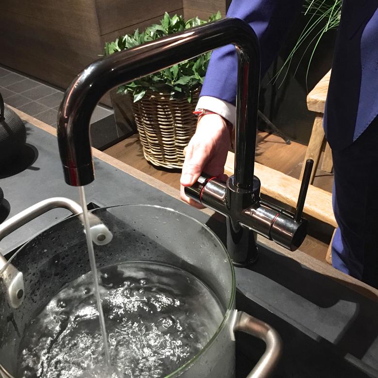 gessi-boiling water faucet