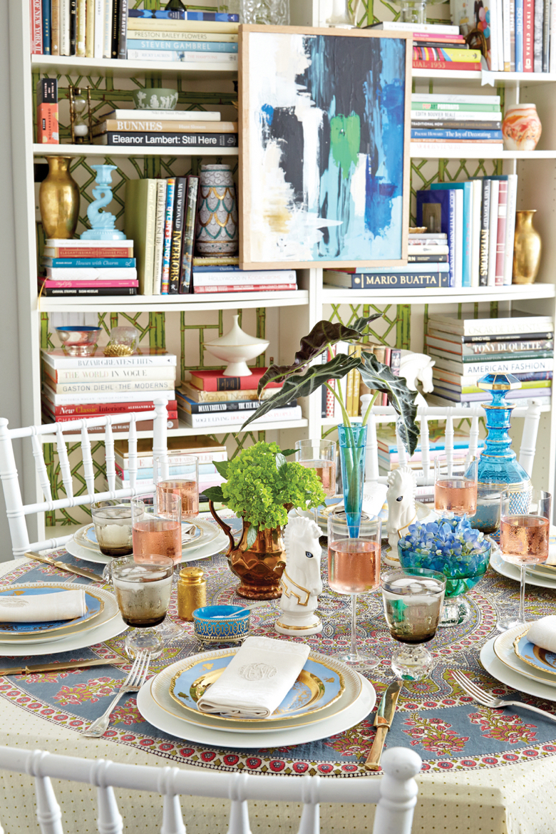 Tabletop and styling by Eddie Ross for his book Modern Mix