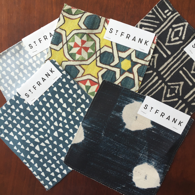 St. Frank textiles available by the yard