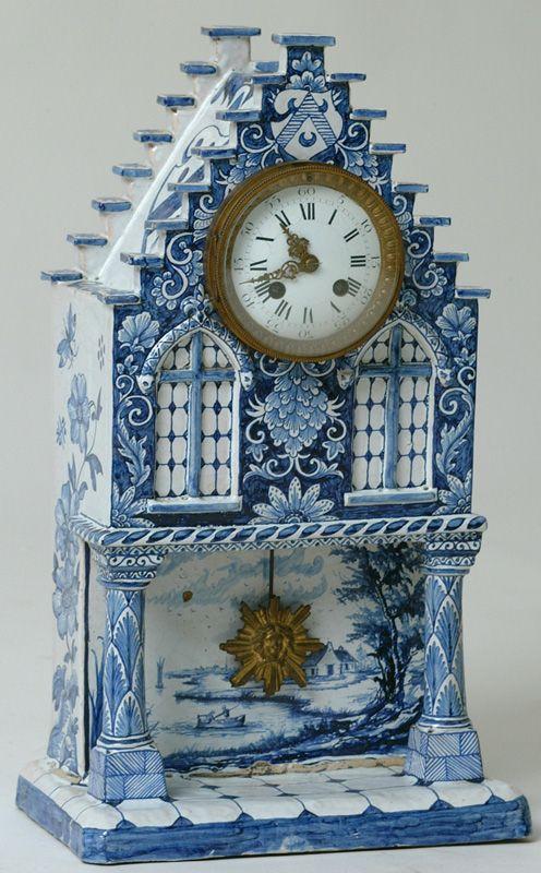 design dictionary- delftware clock