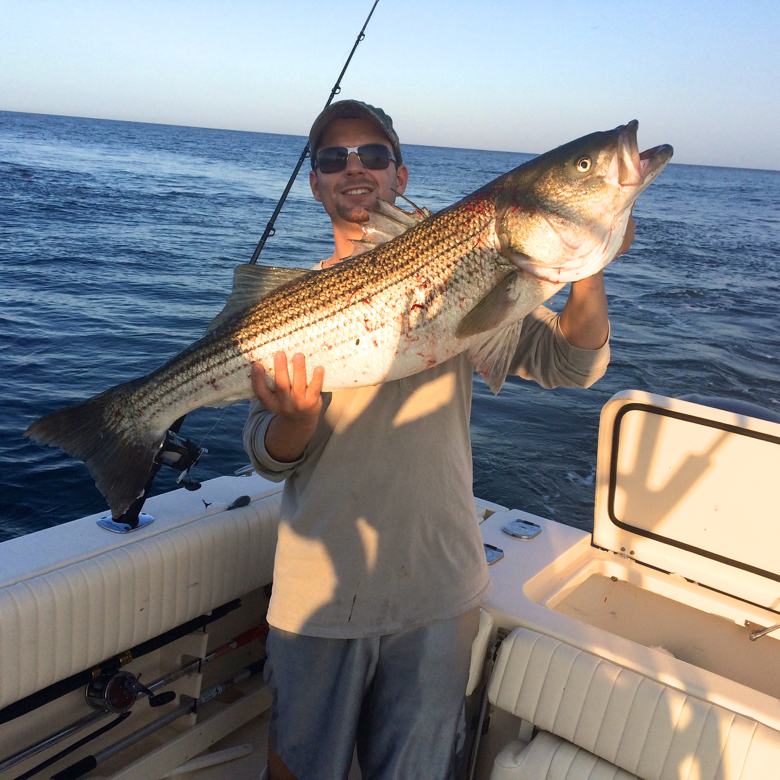 montauk guide -chris fishing