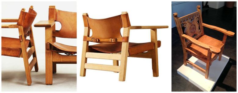 Borge Mogensen's iconic Spanish Chair is a reinterpretation of a traditional carved Spanish Chair