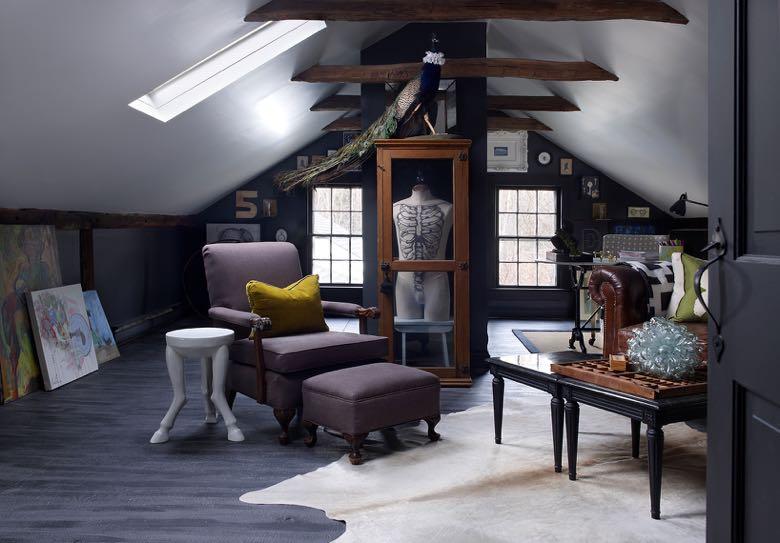Interior design by Collin Robison. Photo by Ellen McDermott.