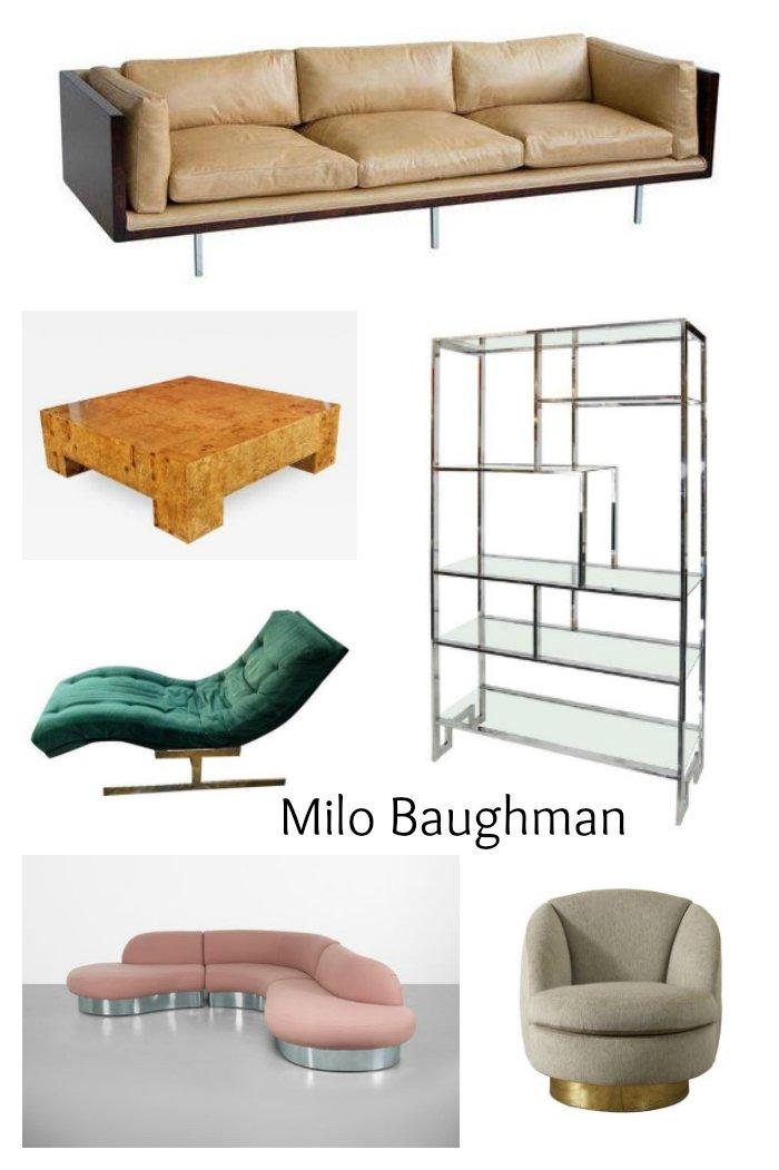 Furniture by Milo Baughman