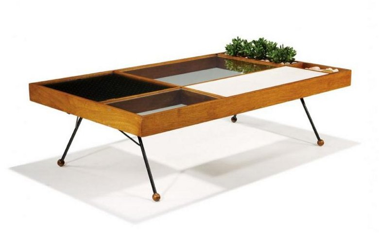 1955 coffee table by Milo Baughman for Glenn of California
