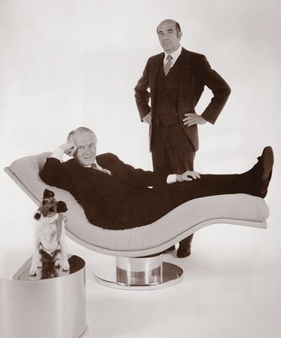 Milo Baughman and Thayer Coggin