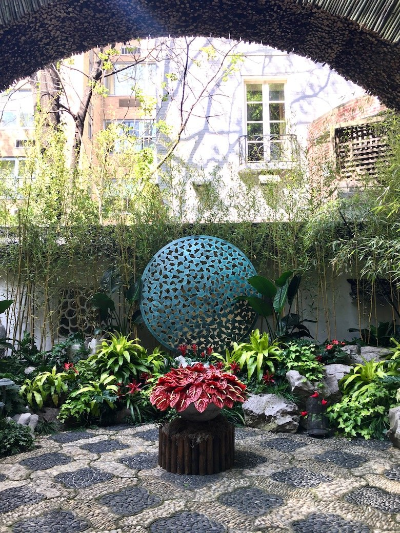 Landscape design by Janice Parker for the 45th Kips Bay Show House