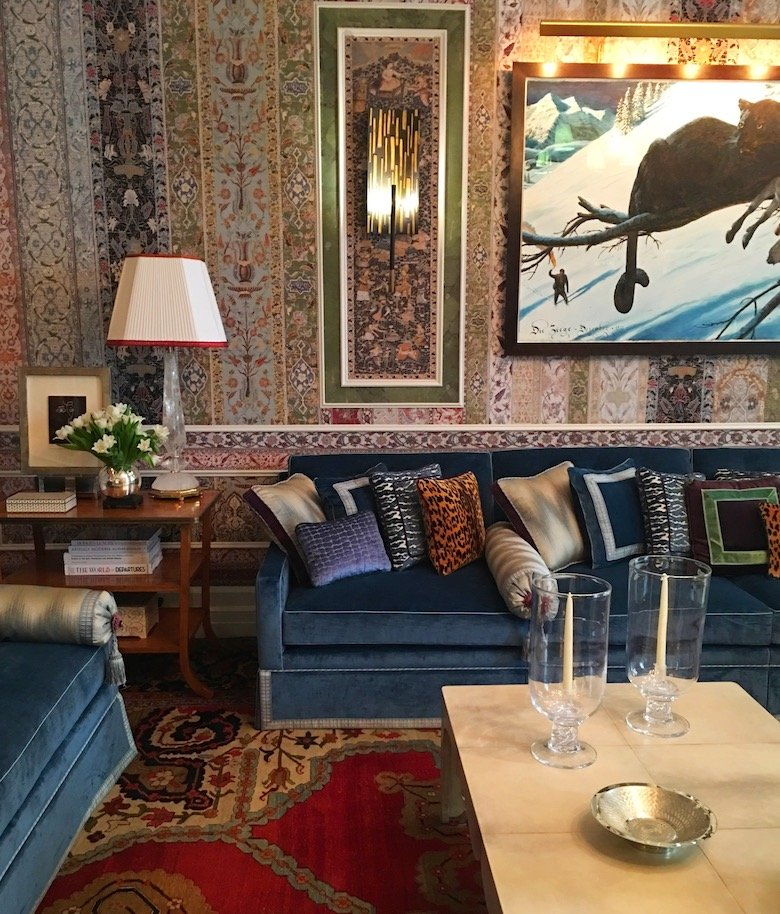 Interior design by Richard Mishaan for the 45th Kips Bay Show House