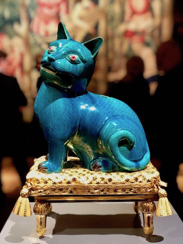Madame de Pompadour's Cat at Tefaf
