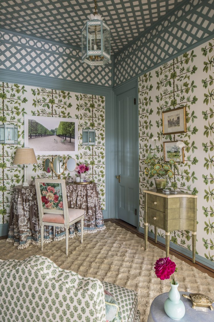 Henry & Co Design's dressing room for the 2017 Brooklyn Heights Designer Show House