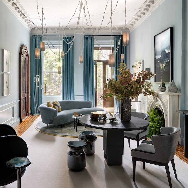 Deborah Berke's parlor for the 2017 Brooklyn Heights Show House
