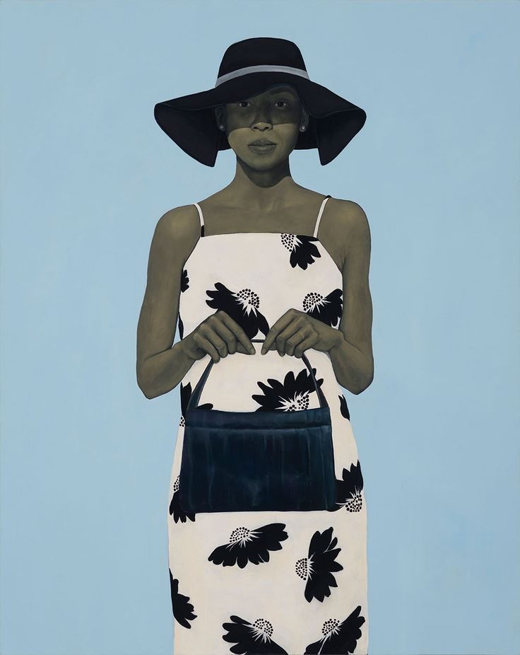 Painting by Amy Sherald