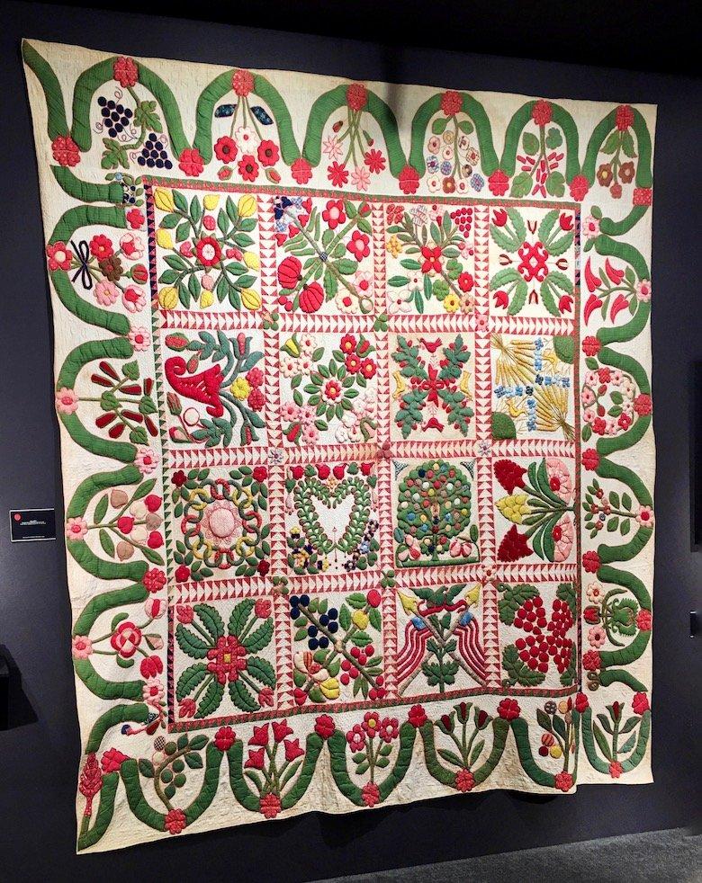 Album Quilt c. 1845