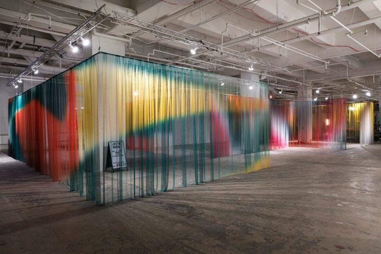 Justin Morin at Collective Design Fair 2018