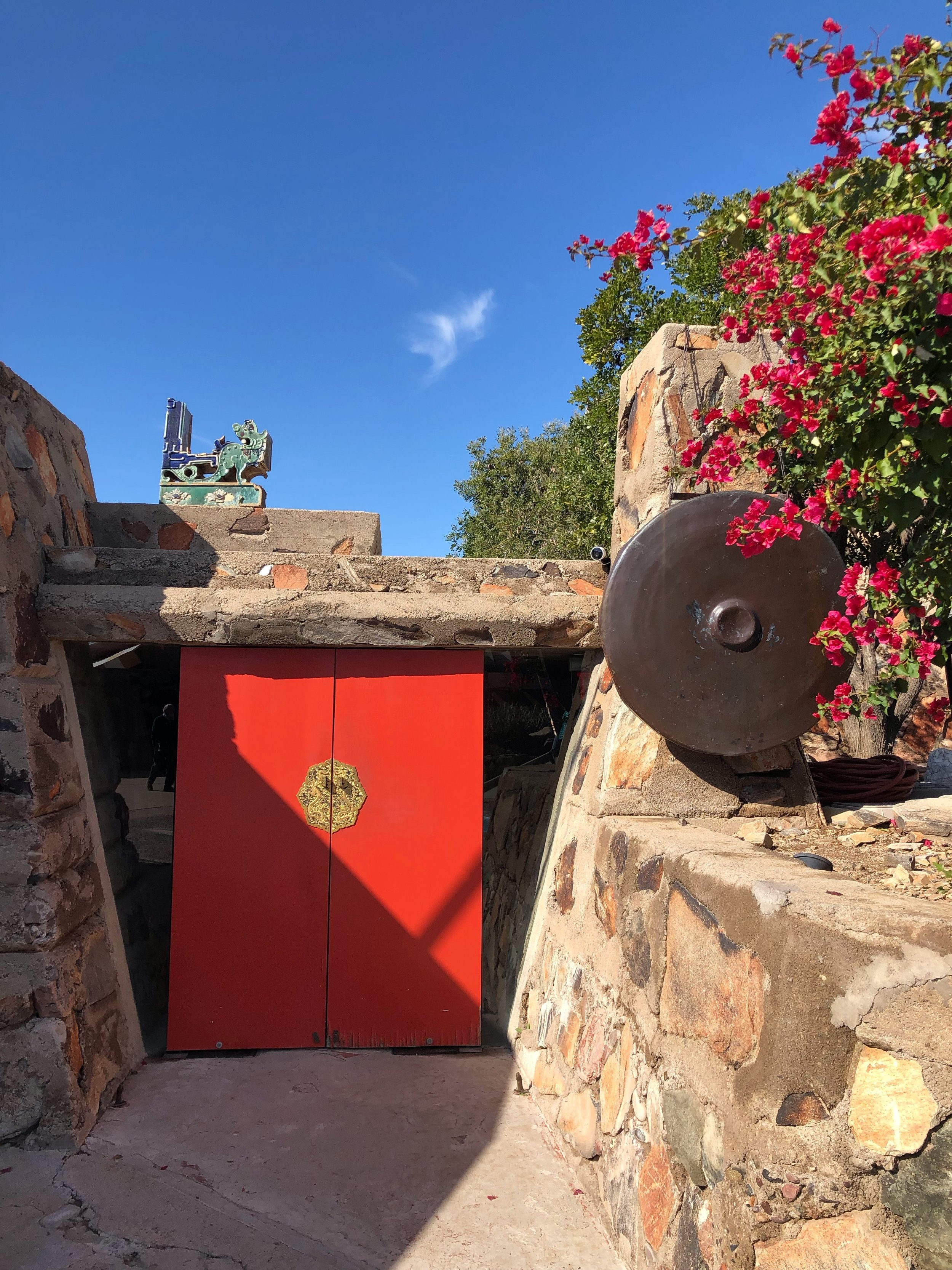 Frank Lloyd Wright and Taliesen West in Scottsdale, Arizona