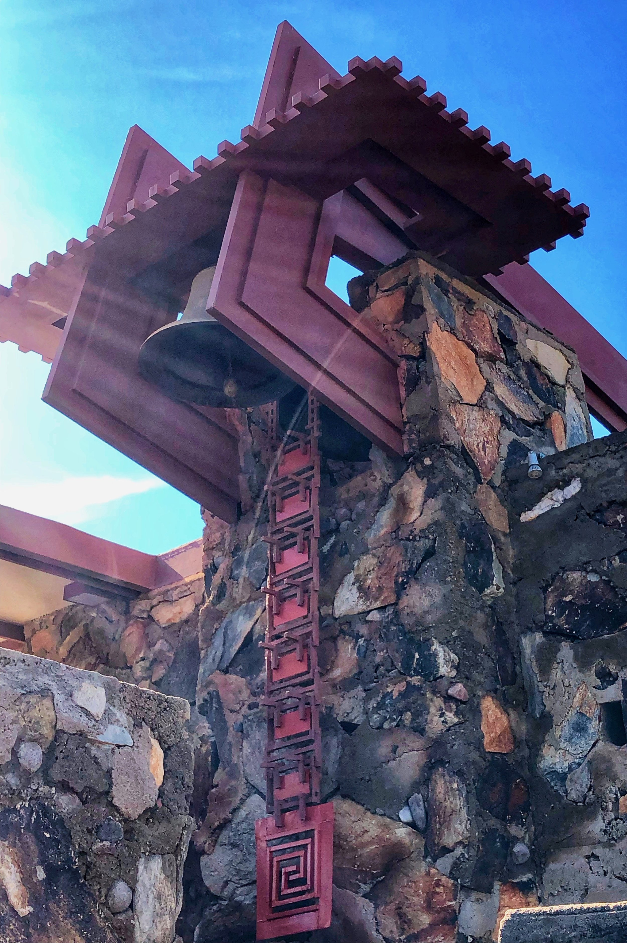 Frank Lloyd Wright Taliesen West Bell