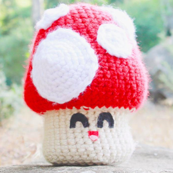 Grab your copy of the Jumbo Mushroom Pattern  here
