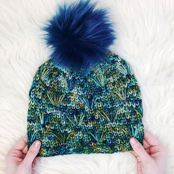 Start making your Dandelion Field Beanie  here