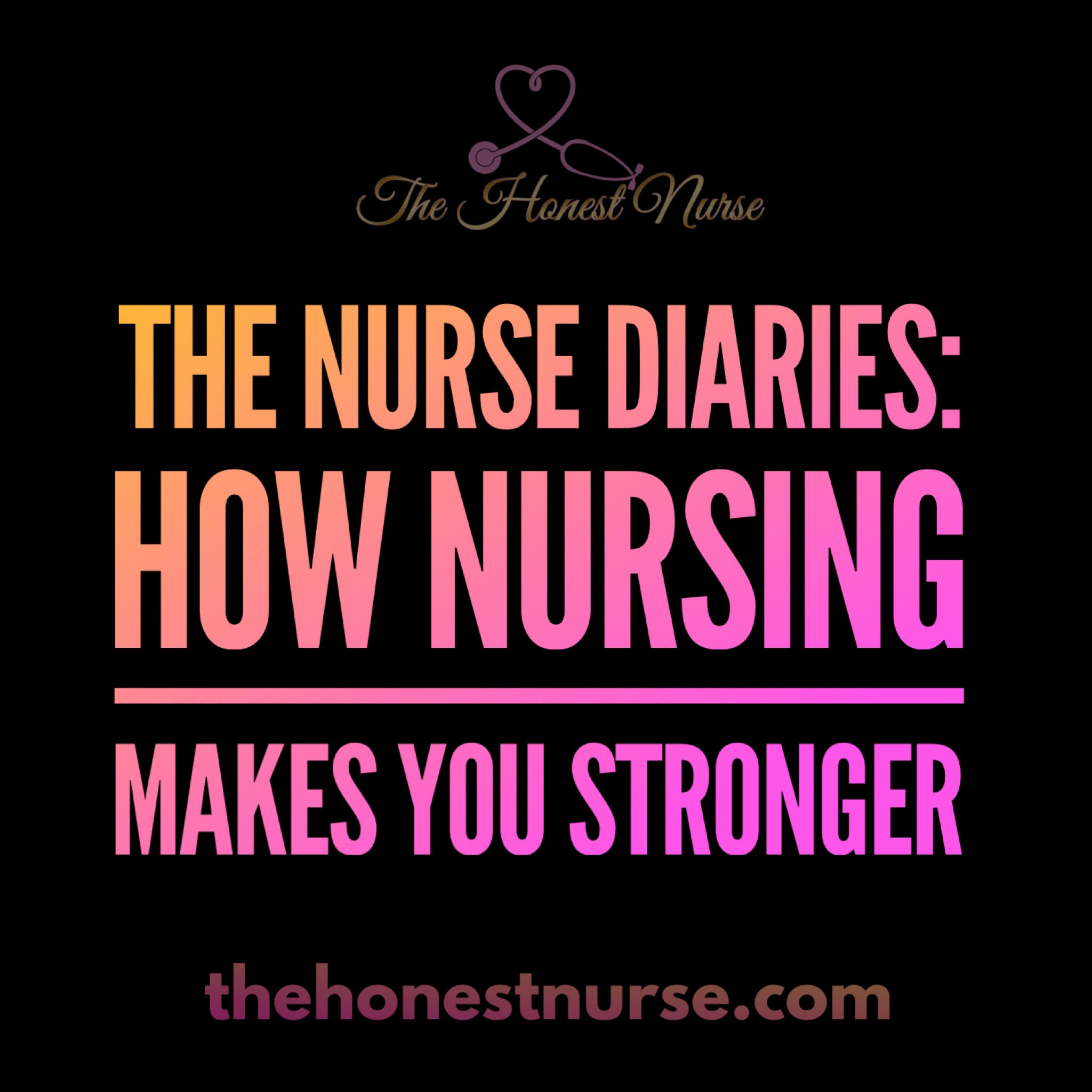 How Nursing Made me stronger - Ever wonder if you're cut out for nursing? If you are strong enough? Well, I can say with pretty much certainty that it was nursing which made me the strong person I am today. My story does not compare however to that of Nurse Heather. She successfully completed nursing school, went through different job roles in a short time, and mentored and supported other nurses all while taking care of her Dad. Her interview tells the story that no matter what you are going through, you are going to make it and your experience will help others.