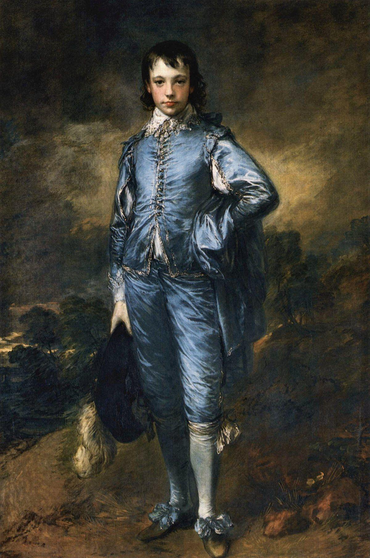 """The Blue Boy"" by Thomas Gainsborough (1779)"
