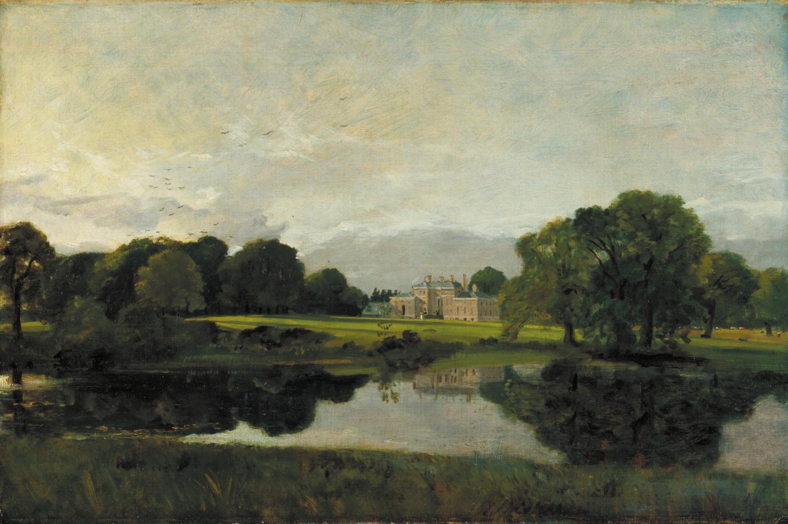 """Malvern Hall"" by John Constable (1809)"
