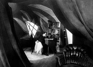 1920 German Expressionist Classic  The Cabinet of Dr. Caligari , Willy Hameister DP