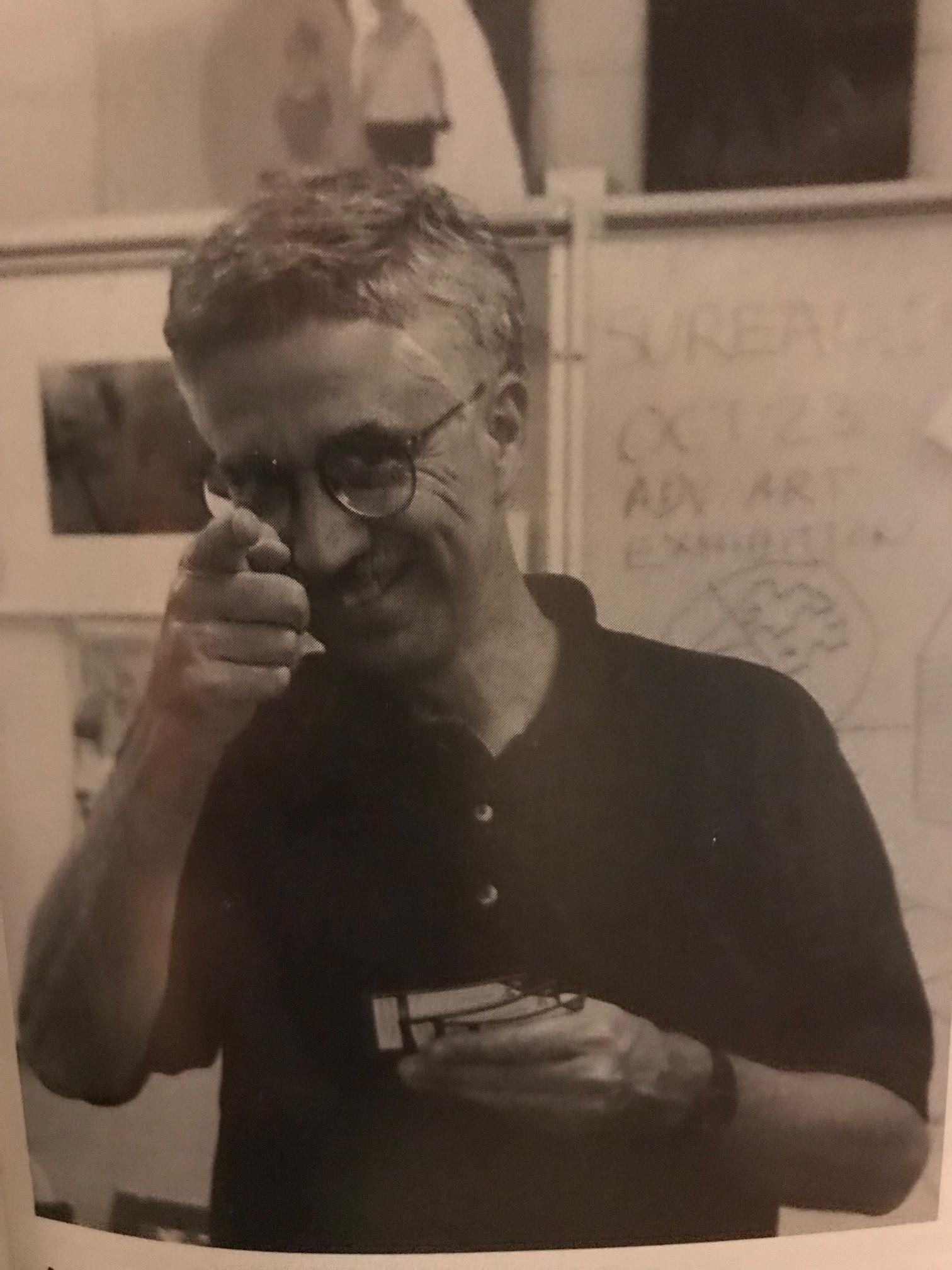 Now retired, Mr. Buck taught art at Bondurant-Farrar High School.
