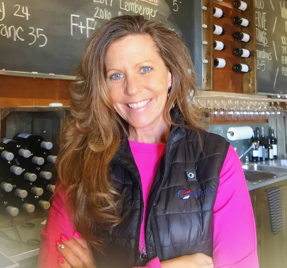 Susie McFerran     Susie McFerran joined Two Mountain Winery in March 2014 to assist in the daily operations of the tasting room including Wine Club and events. She has an extensive background in outstanding customer service and hospitality. Before joining Two Mountain, she previously managed another tasting room and previous to that was with Macy's for nearly 20 years. She also has her cosmetology License, but prefers promoting outstanding Washington wines and developing lasting relationships with wine club members. No one can resist her infectious smile, extensive product knowledge and extremely outgoing personality. Susie is married with three children. When she's not at the winery you can usually find her lending a helping hand to others. She loves spending time with her family whether it be camping, skiing and leisurely fishing trips with her husband Jim. Aside from that, her real passion is traveling to tropical locations and relaxing on the beach or pool side with a cold cocktail in her hand!  Email:  Susie@twomountainwinery.com