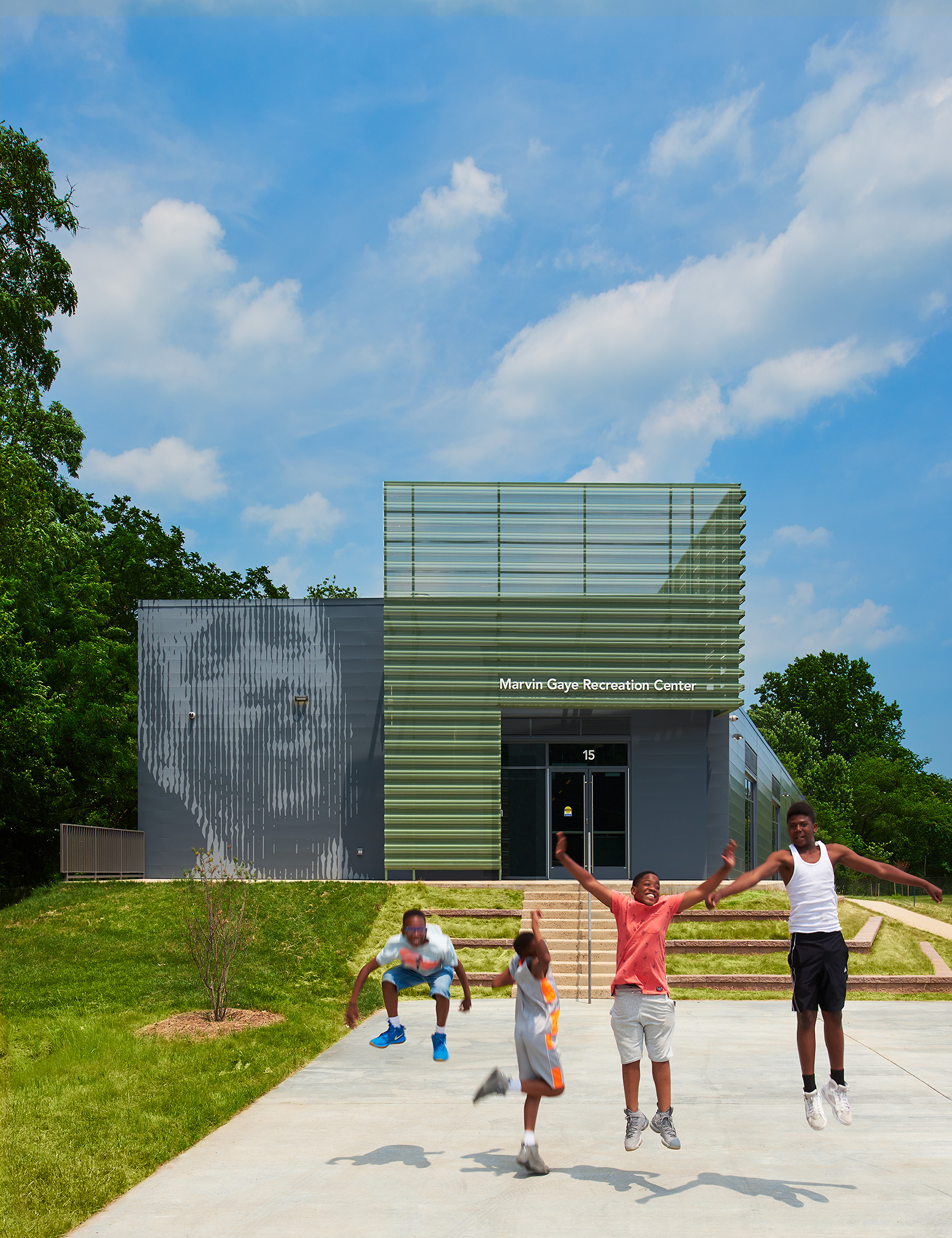 Marvin Gaye Recreation Center - AIA DC Sustainability Award