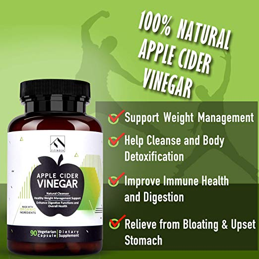 MADE IN USA - Our Apple Cider Vinegar Capsules are made in USA and in a FDA registered facility. It also undergoes strict third-party testing to make sure every bottle has exactly what it says it has. Order with confidence - we've got you covered