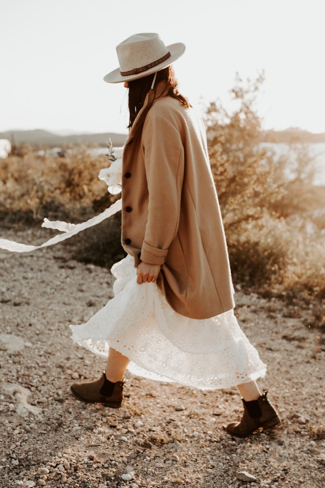 Lake Pleasant Arizona Photographer Fierce and Fringe King Floral Design free People