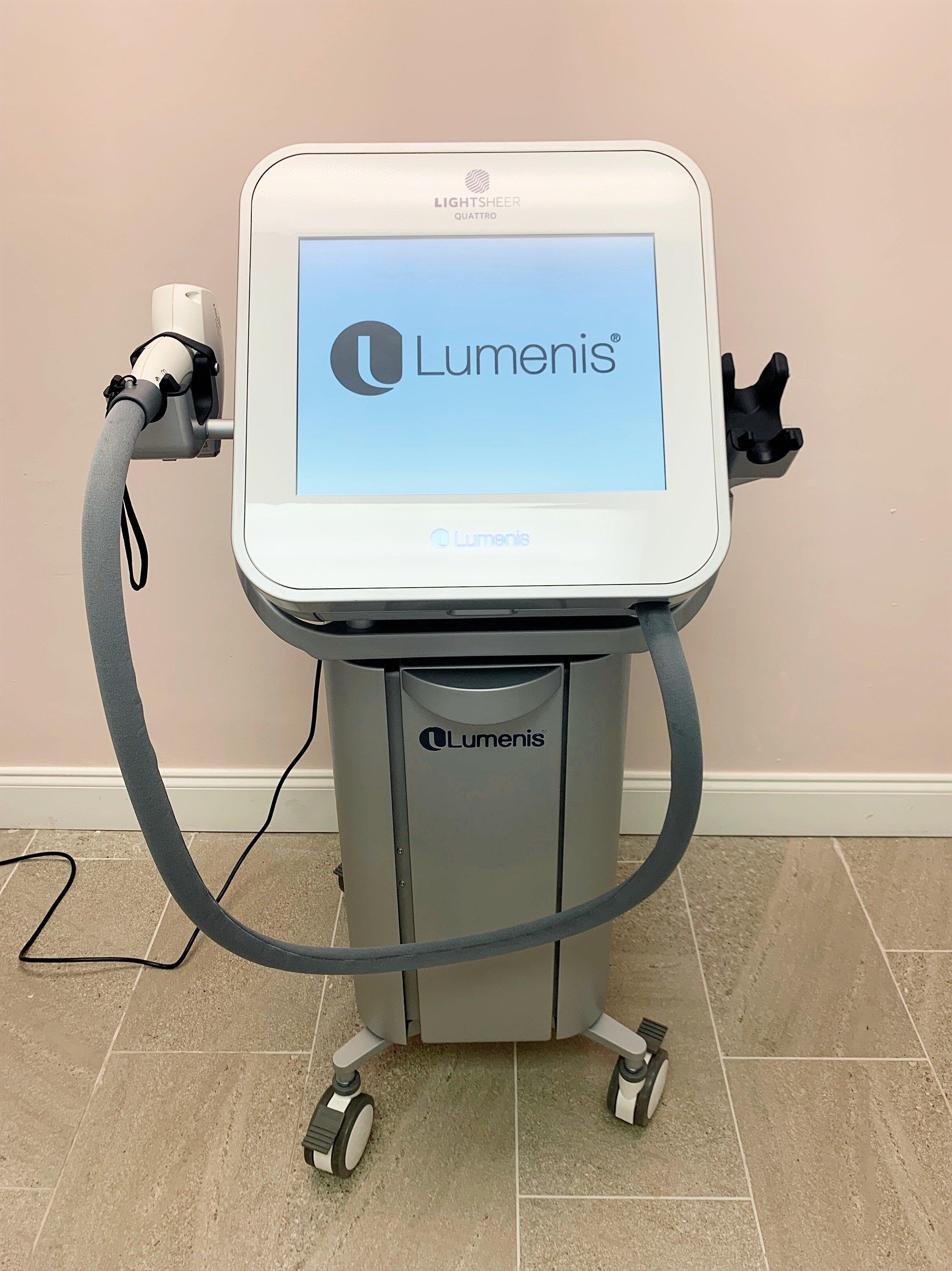 Lumenis LightSheer Quattro