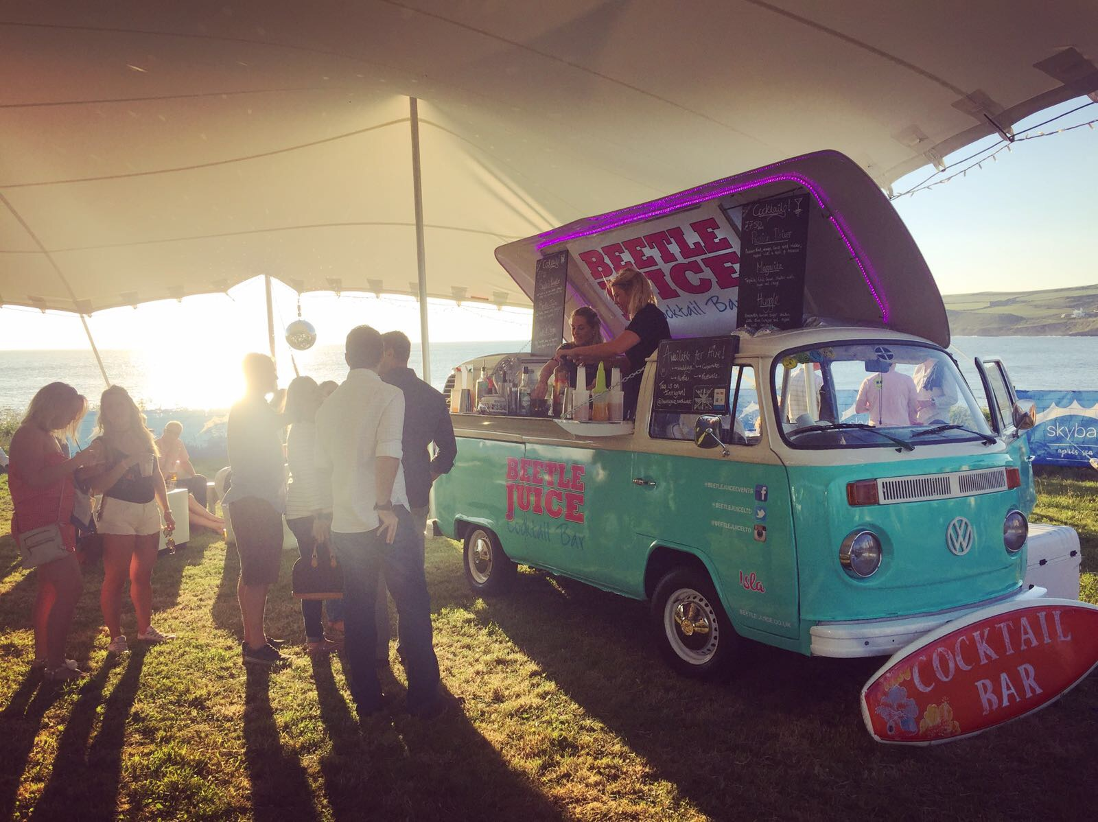 vw campervan bar