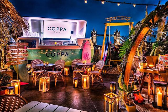 Why not get yourself down to @coppaclub this summer. One of our vehicles is on their summer terrace. The cocktails are delicious and the view isn't bad either. If you manage to get any good pictures remember to tag @beetlejuiceltd too! We'll be giving out boozy prizes and free rounds on our bars at certain events
