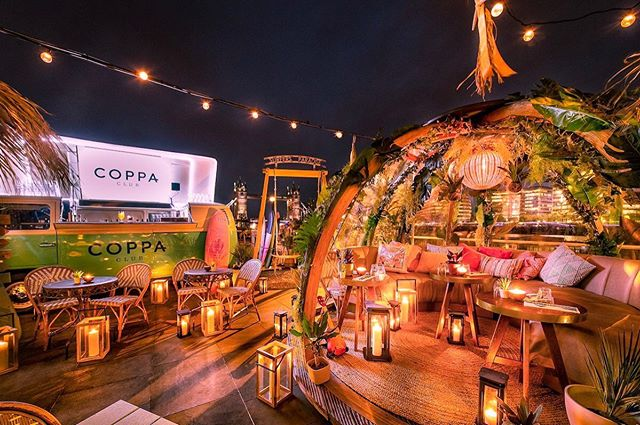 With all this sunny weather, make sure to make use of the awesome skyline  @coppaclub we've got a bar on their summer terrace. If you're there, remember to tag @beetlejuiceltd for a chance to win prizes 🥳 🎁