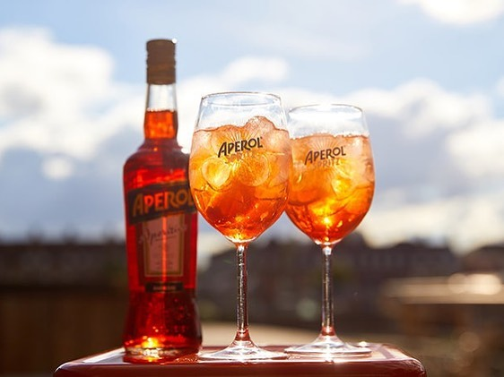 So excited to be working with @AperolSpritzuk this year, not only are we stocking Aperol across all of our bars - We've built them TWO of there very own wagons