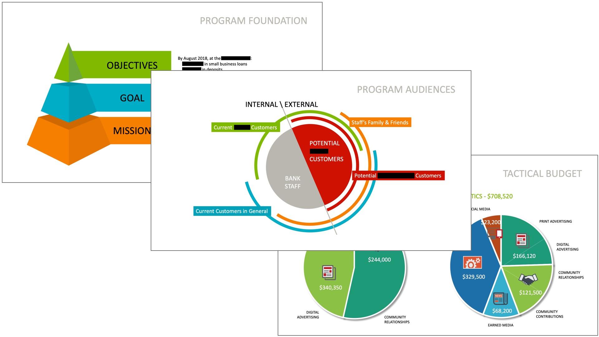 INFORMATION DESIGN: PROGRAM ELEMENTS