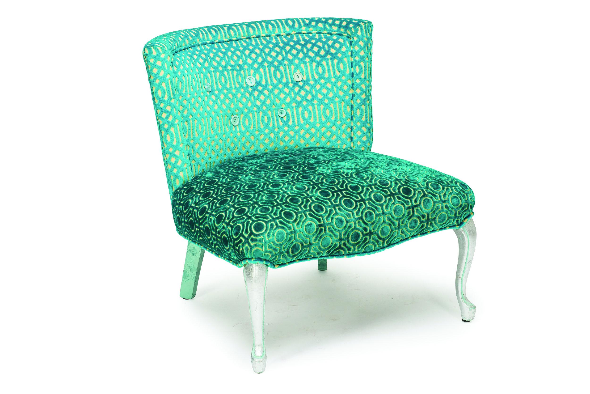 Aqua Velvet chair available here!