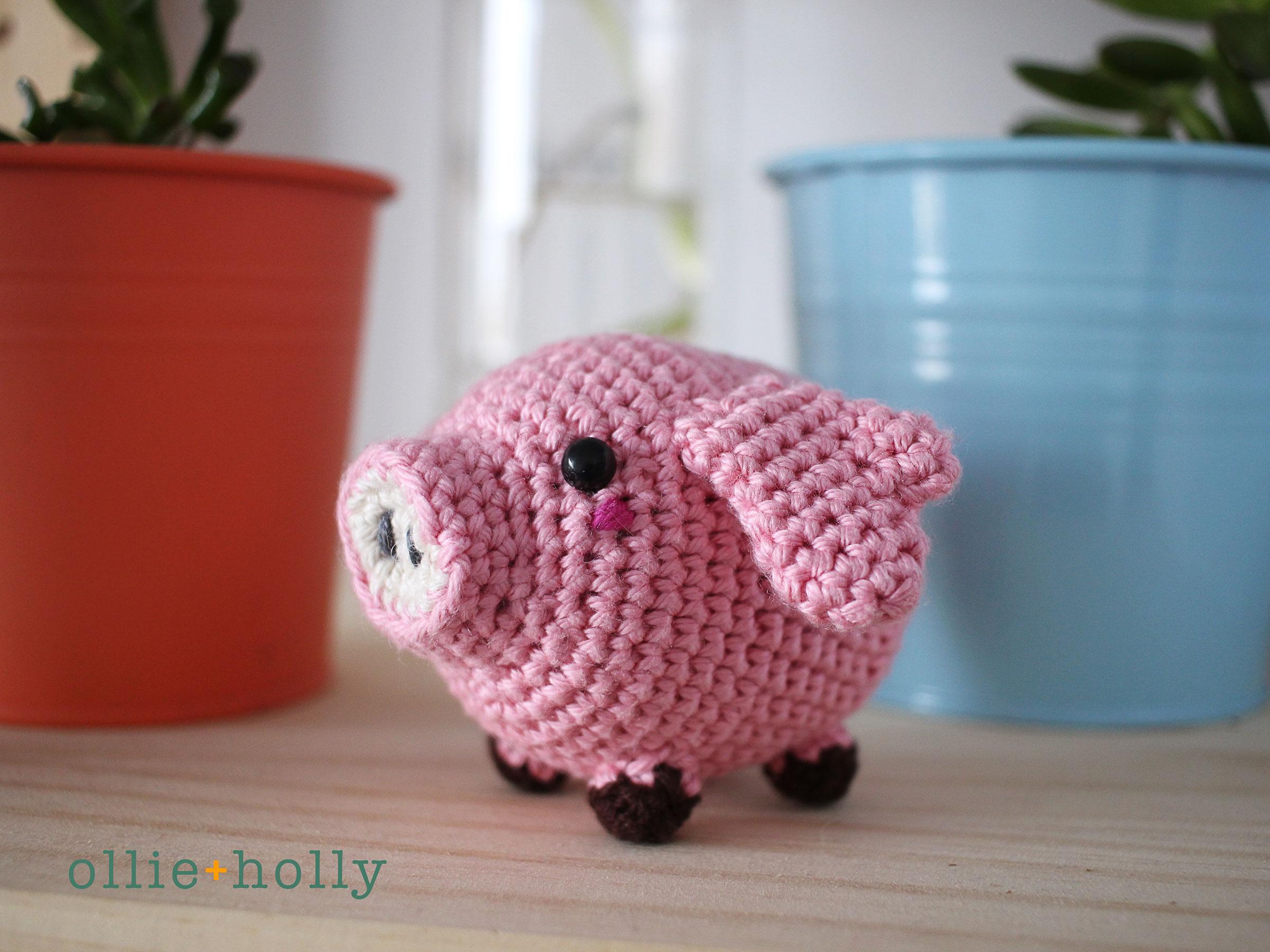 Amigurumi Crochet Pig Pattern