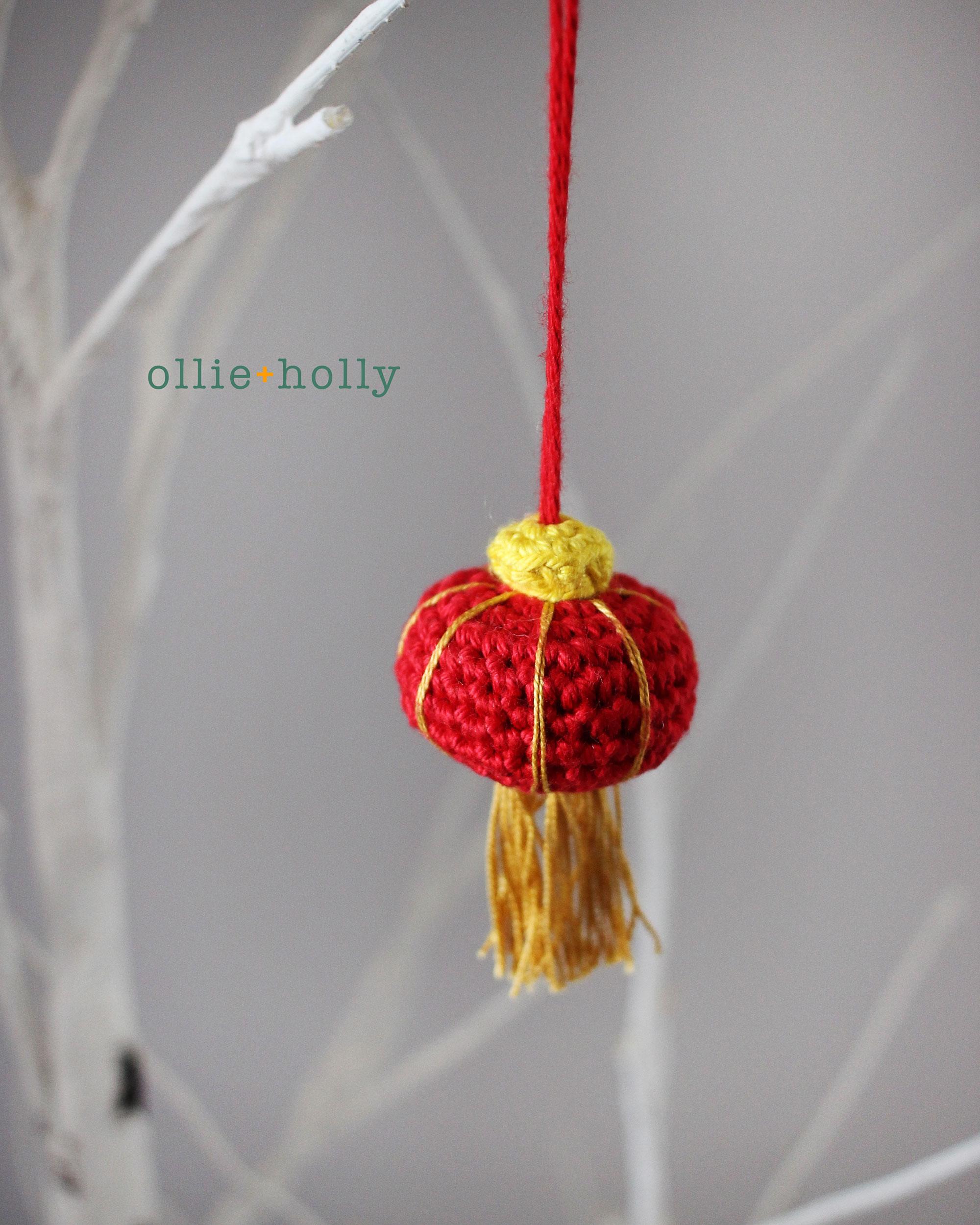 Chinese Lantern Amigurumi Crochet Pattern
