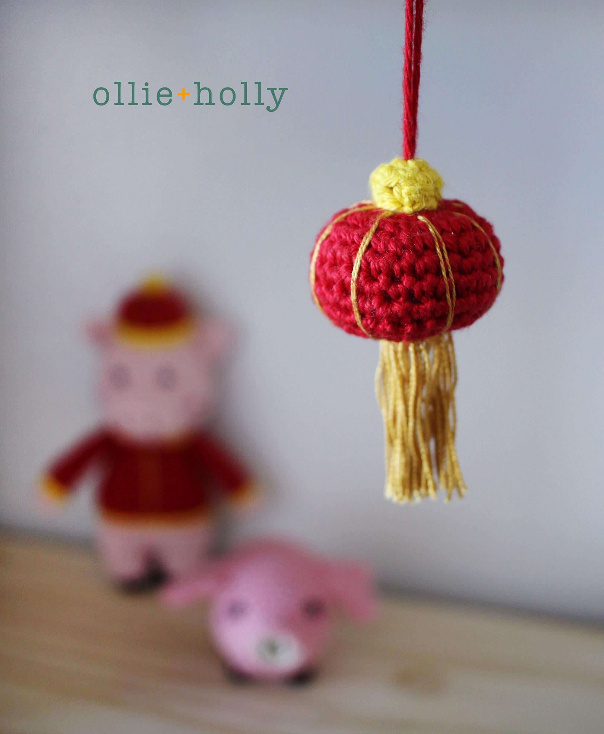 Chinese Lantern Amigurumi Crochet Finished Blog Post