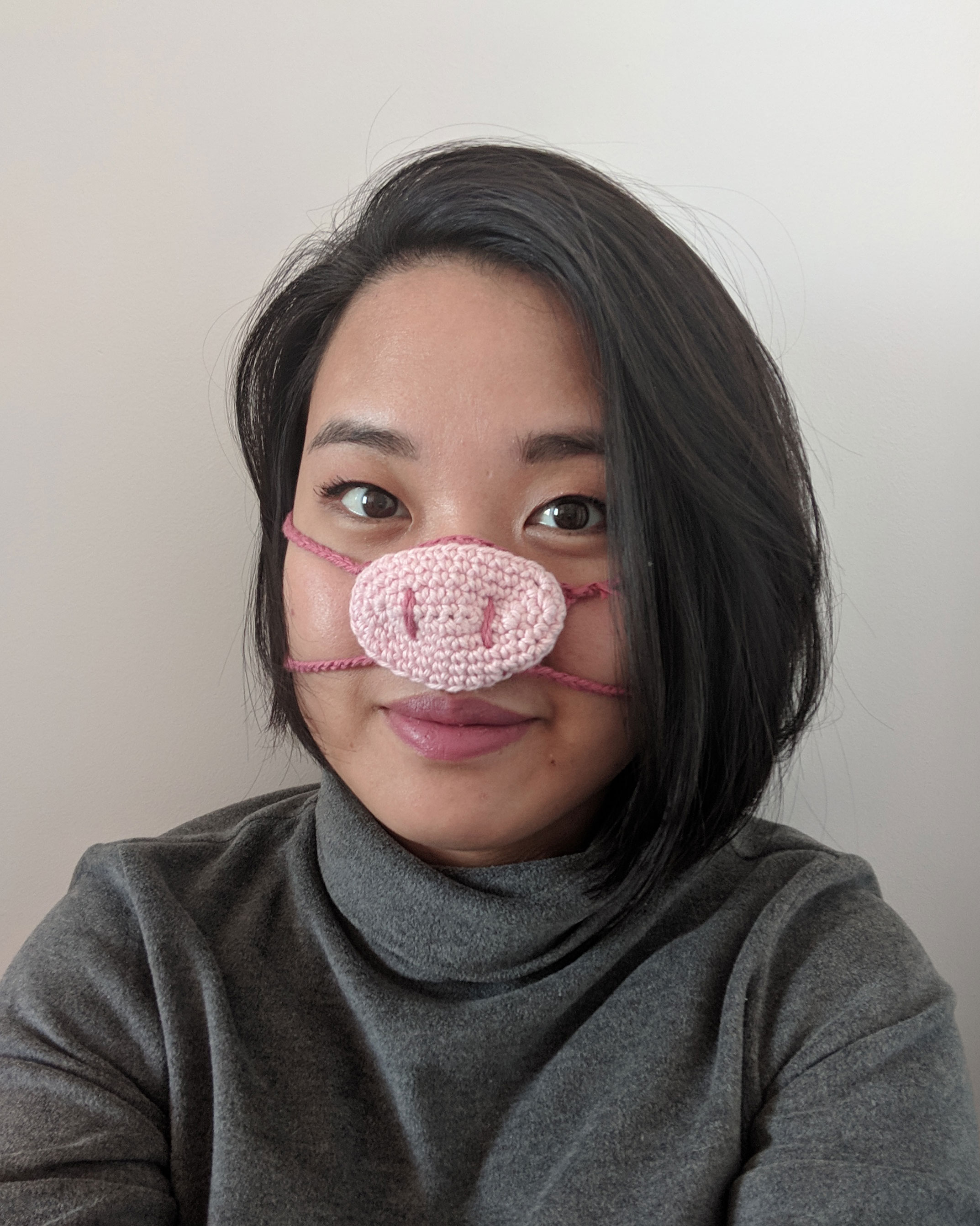 Crochet Nose Warmer Free Pattern Blog