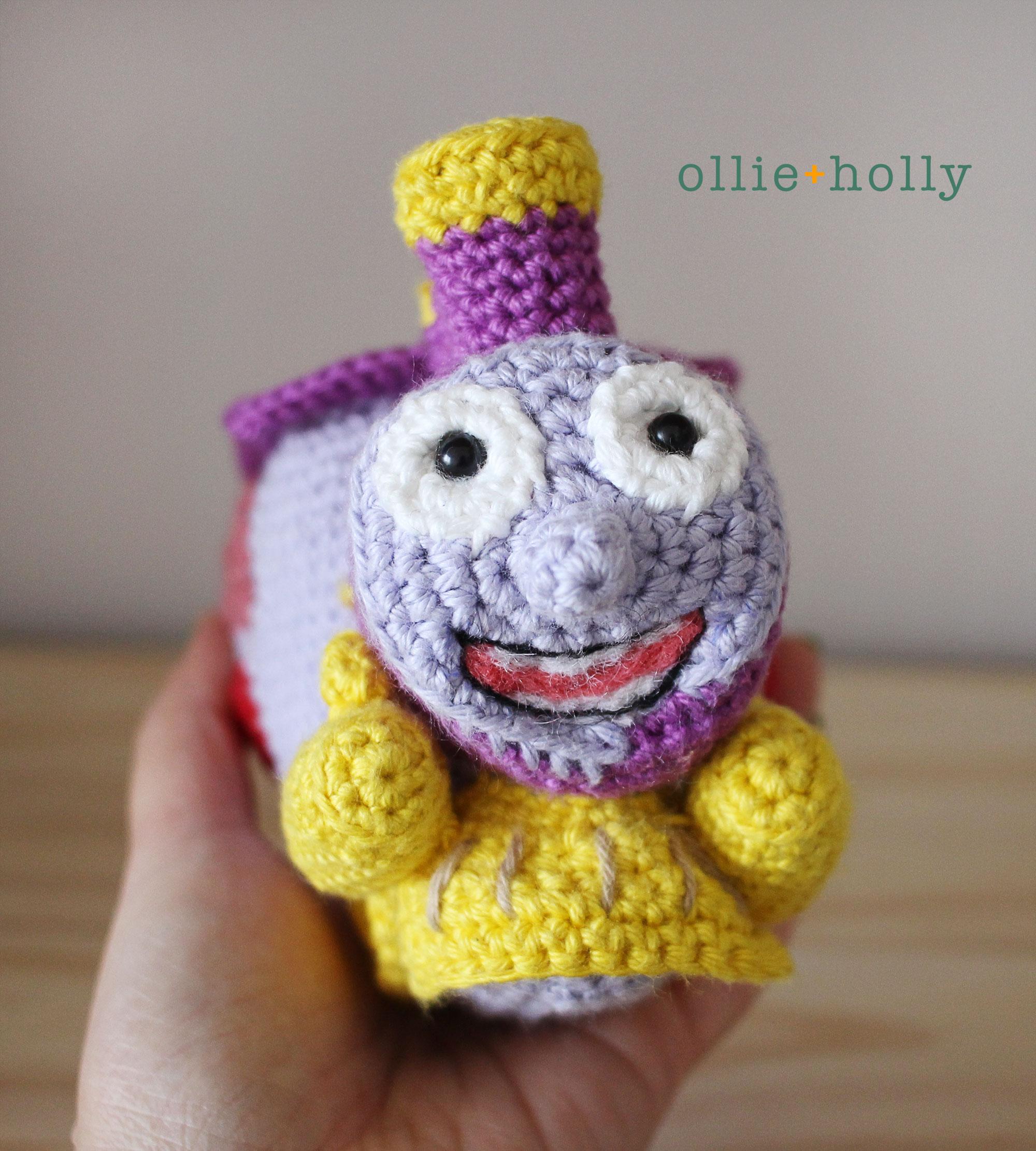 The Simpsons I Choo Choo Choose You Crochet Amigurumi Pattern Finished