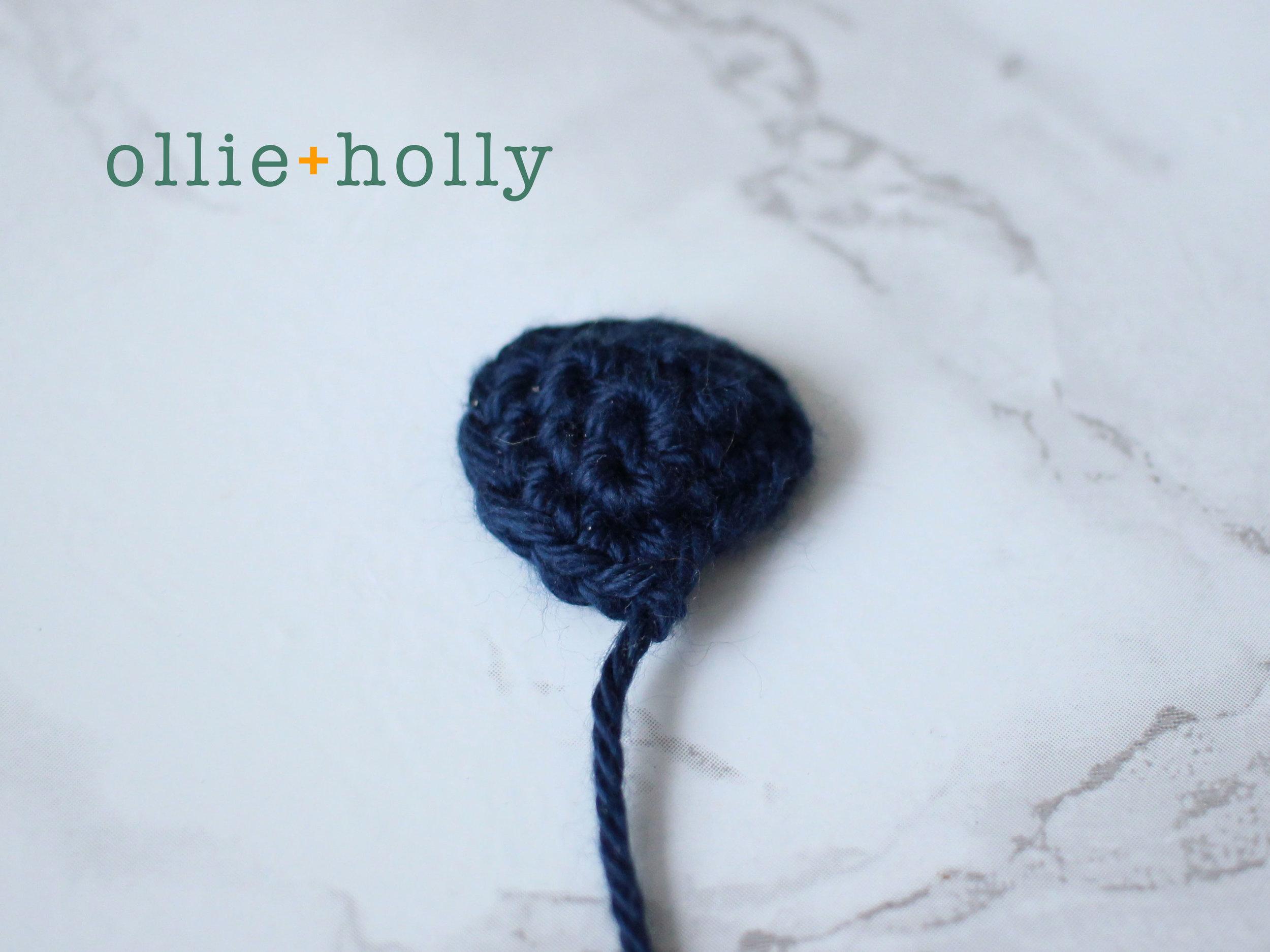 Free Lilo and Stitch Amigurumi Crochet Keychain Pattern Step 2